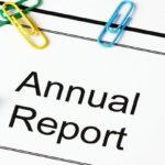 Годишен отчет на дружеството